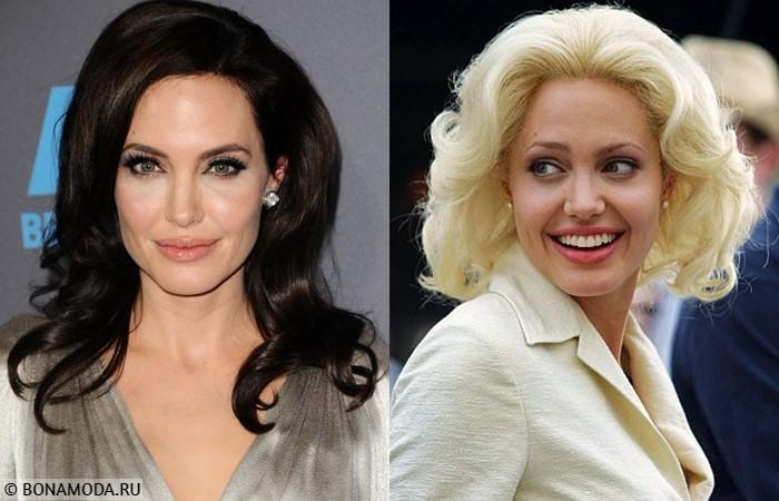 Звёзды, которым не идёт быть блондинками - Анджелина Джоли
