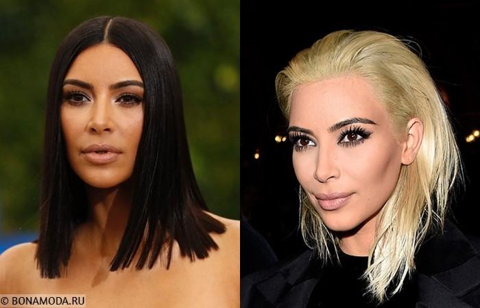 Звёзды, которым не идёт быть блондинками - Ким Кардашьян