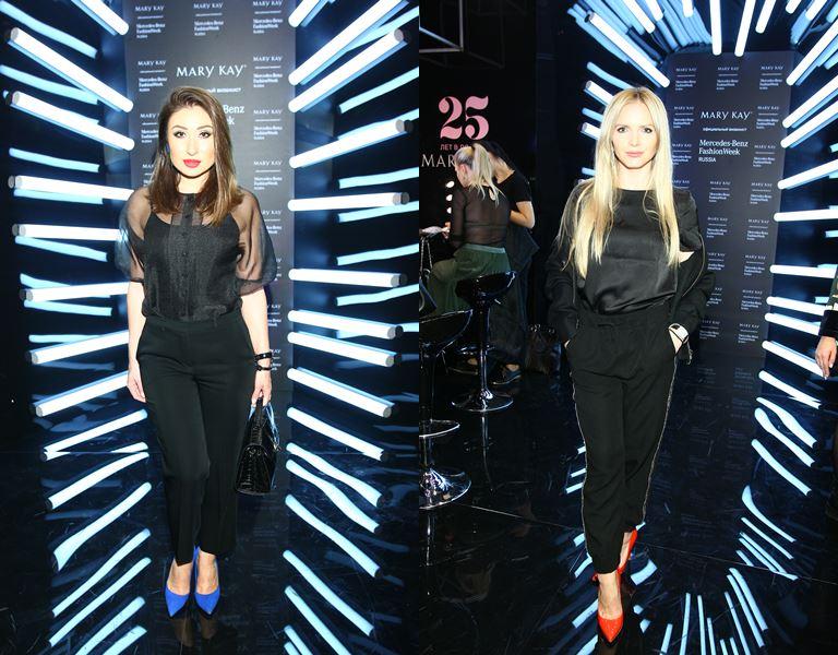 Маргарита Позорян и Юлия Михальчик