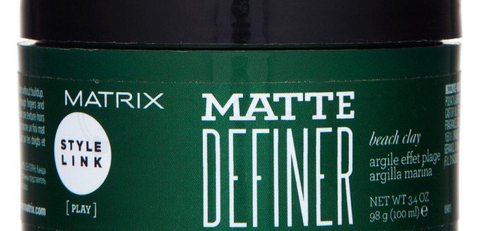Matte Definer – матовая глина для укладки волос от Matrix