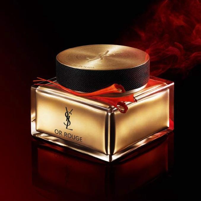 Новые средства Yves Saint Laurent Or Rouge - крем для лица в роскошной упаковке