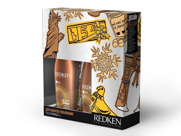 Подарочные наборы Redken - ALL SOFT MEGA