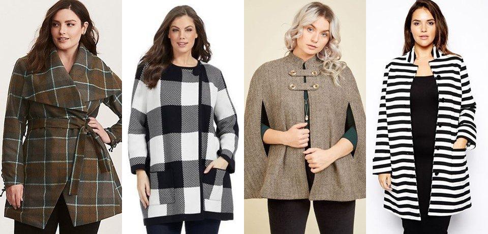 6 пальто для толстушек, которые скроют полноту (и сделают стройнее)