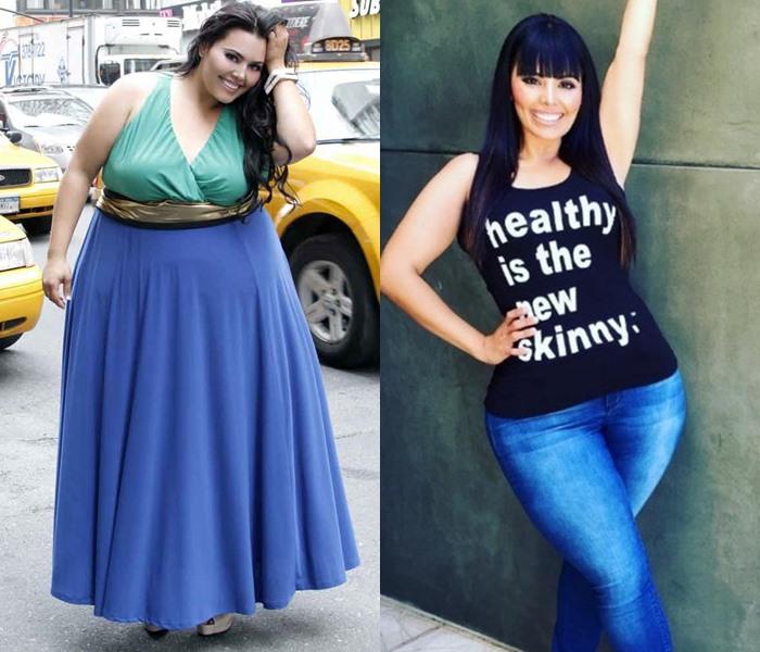 Полные модели, которые похудели - Рози Меркадо