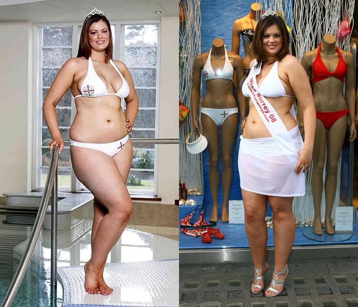 Полные модели, которые похудели - Хлоя Маршалл