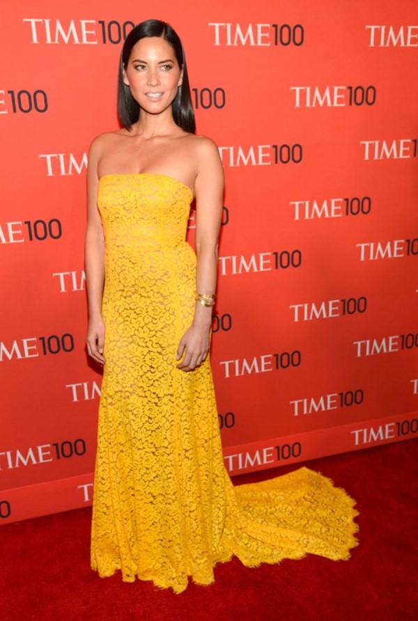 Жёлтые вечерние платья - Оливия Манн