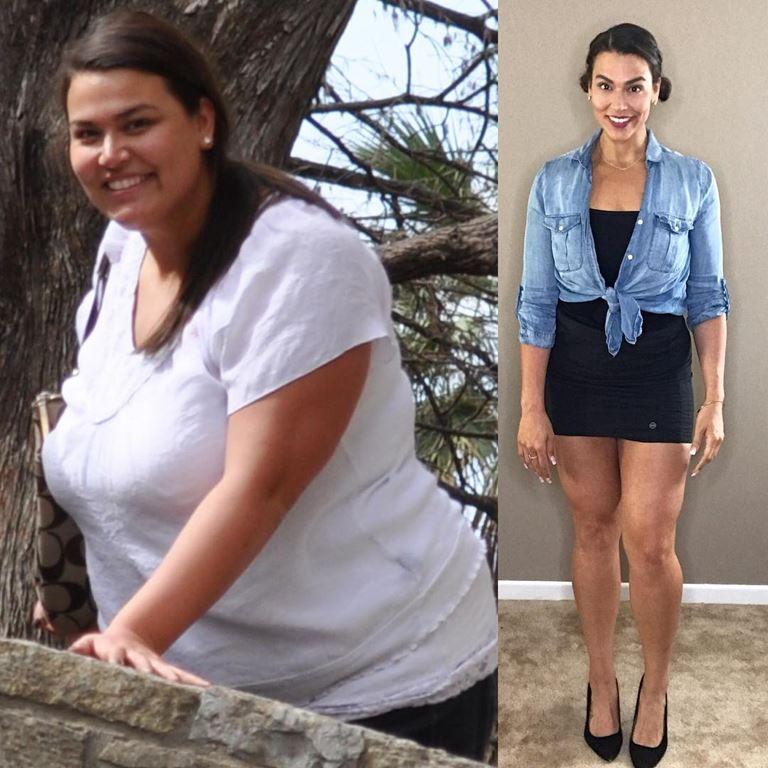 5 девушек, которые похудели на 30-100 кг - Эрика Луго – похудела на 70 кг