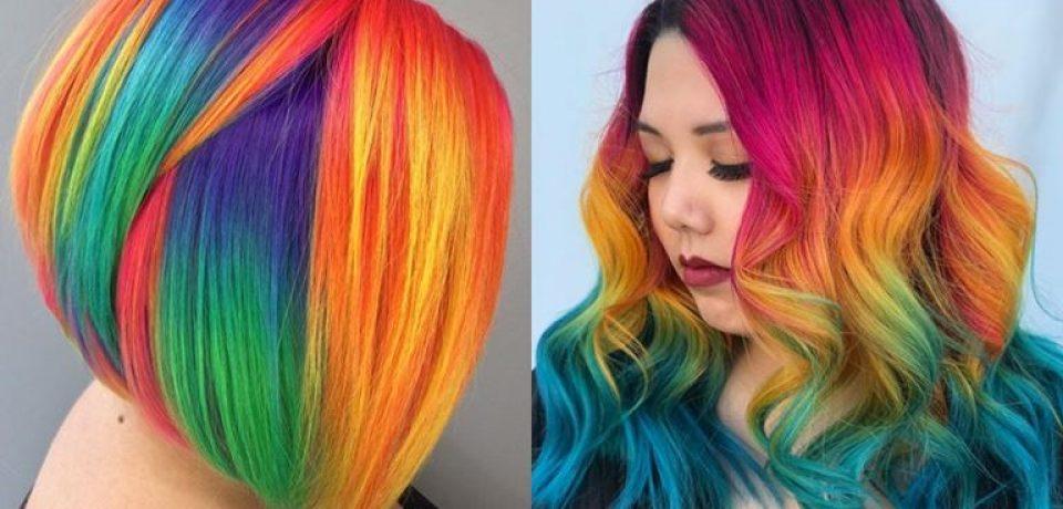 15+ причёсок с цветными волосами, которые надо увидеть