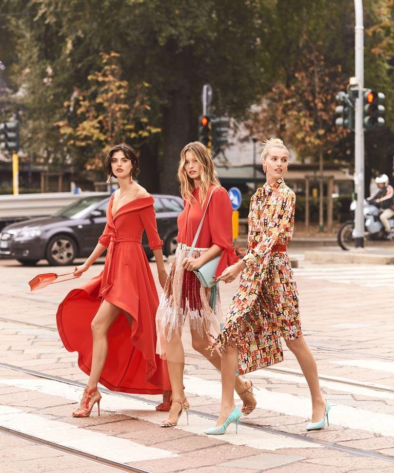 Рекламная кампания Elisabetta Franchi весна-лето 2019 - фото 4