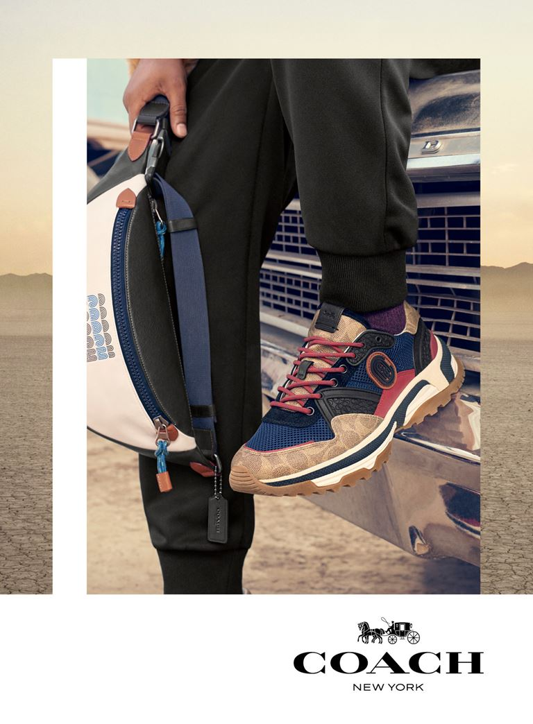 Рекламная кампания мужской коллекции Coach весна-лето 2019 - фото 3