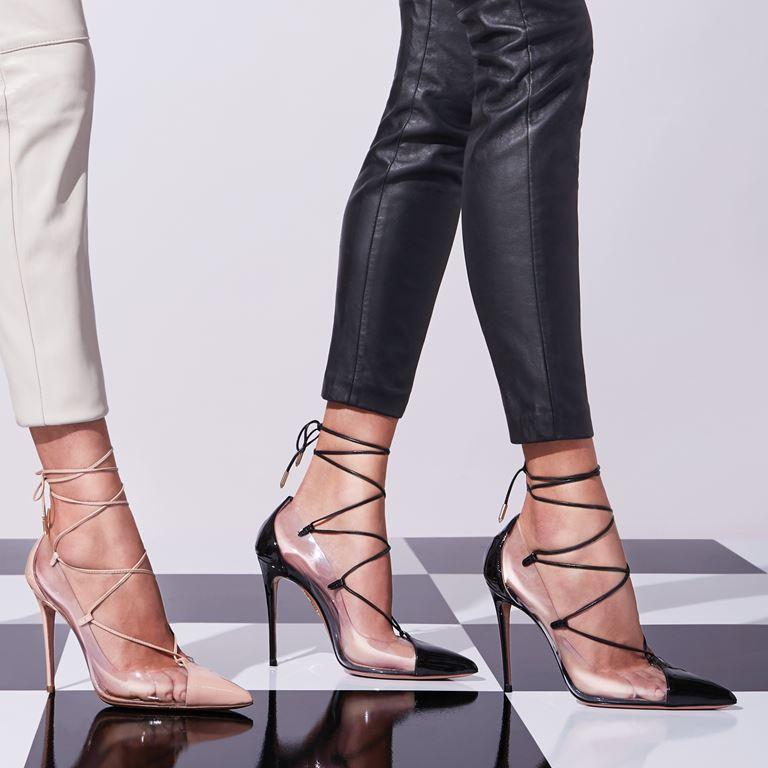 Коллекция женской обуви Aquazzura The Essentials - фото 1