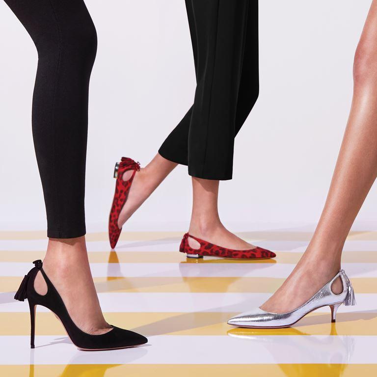 Коллекция женской обуви Aquazzura The Essentials - фото 8