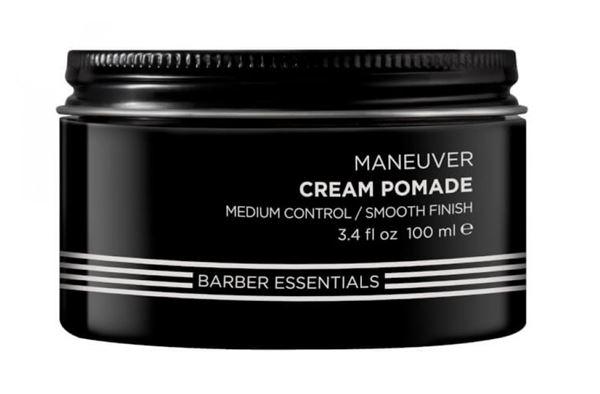Мужская коллекция средств для стайлинга Redken Brews - Крем-помада Maneuver Cream Pomade