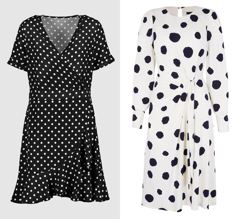 Модный принт «горох» от бренда Next - платье - фото 1