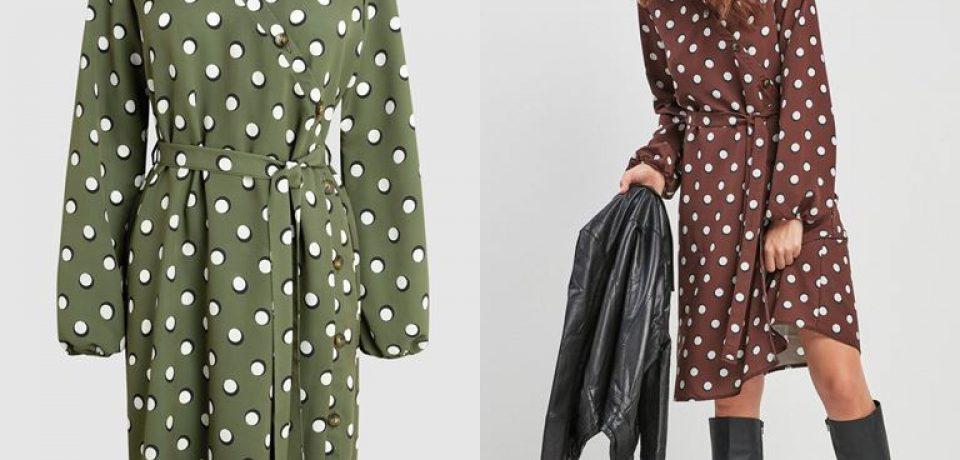Модный принт «горох» от бренда Next