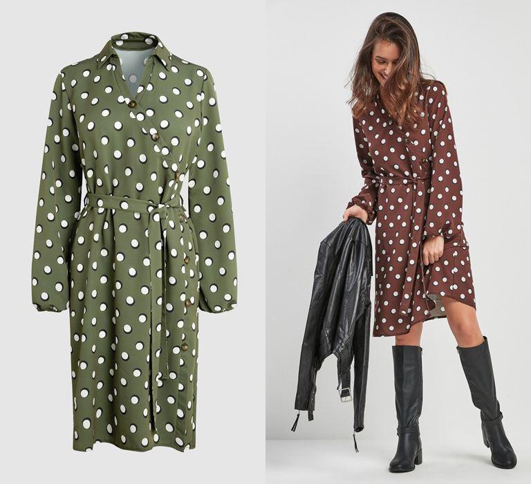 Модный принт «горох» от бренда Next - платье - фото 2