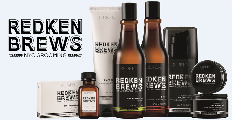 Redken Brews – новый бренд для мужчин по уходу за волосами
