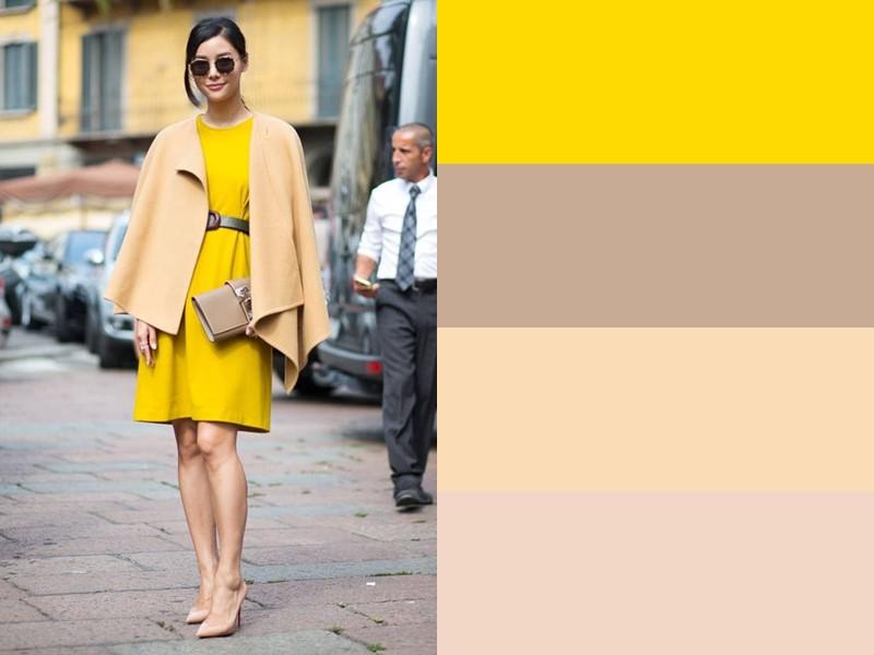 10 простых и стильных сочетаний с жёлтым в одежде - Пастельные тона