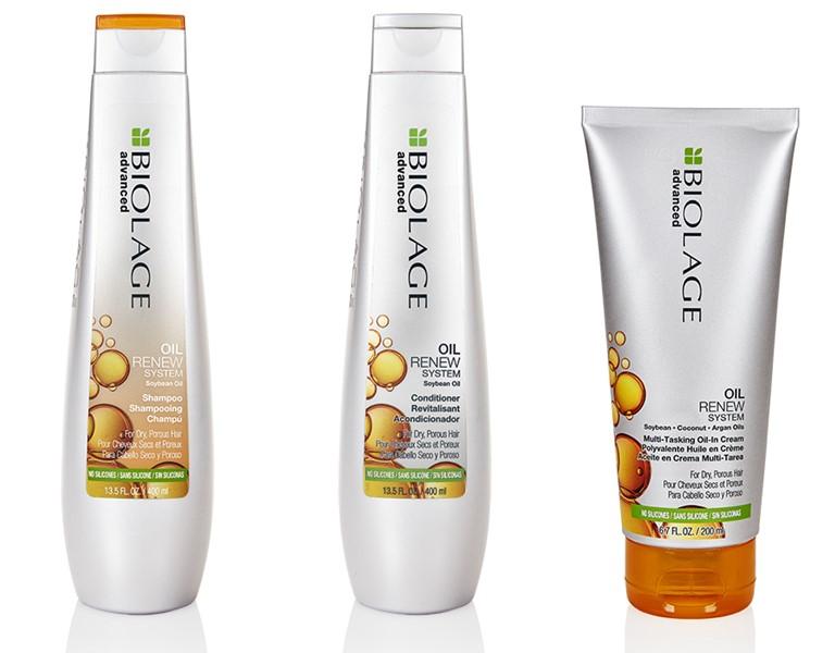 Новинка Biolage – линия Oil Renew для питания сухих и пористых волос