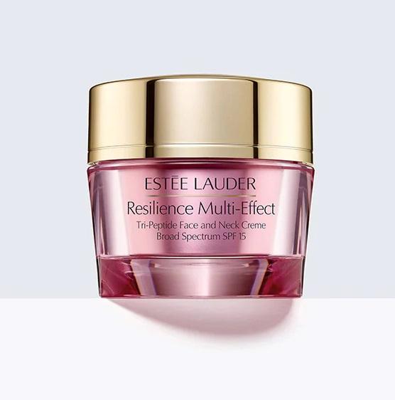 Estée Lauder Resilience Multi-Effect - дневной лифтинговый крем, повышающий упругость кожи лица и шеи. SPF 15
