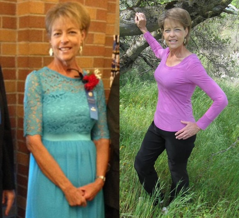 Как в 60 лет похудеть на 102 килограмма и изменить свою жизнь - фото Дианы Нейлор после похудения