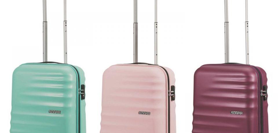 «Бархатная» коллекция чемоданов Wavebreaker Velvet от American Tourister