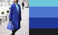 10 идей сочетания синего цвета в одежде