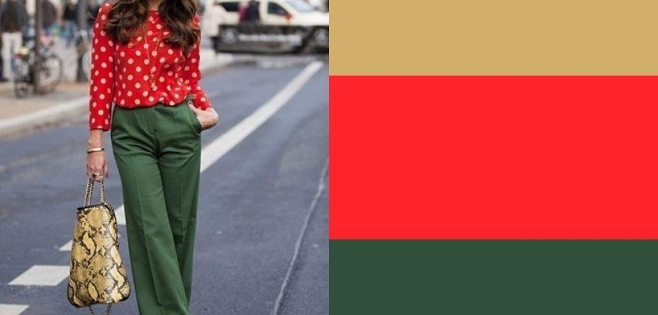 С чем носить красный? 10 простых и необычных сочетаний в одежде