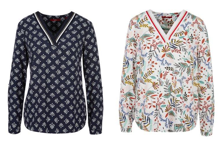 Блузки, рубашки, и топы s'Oliver весна-лето 2019 - фото 17