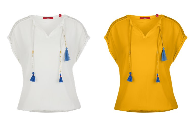 Блузки, рубашки, и топы s'Oliver весна-лето 2019 - фото 22