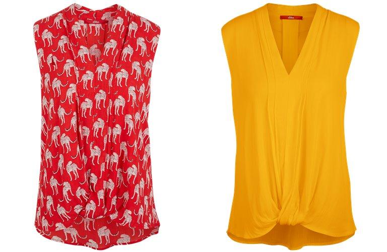 Блузки, рубашки, и топы s'Oliver весна-лето 2019 - фото 24