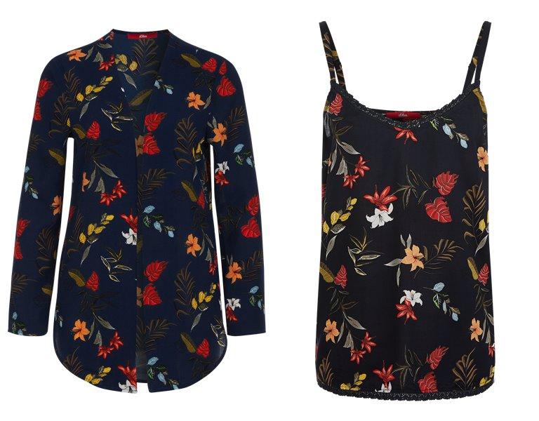 Блузки, рубашки, и топы s'Oliver весна-лето 2019 - фото 20