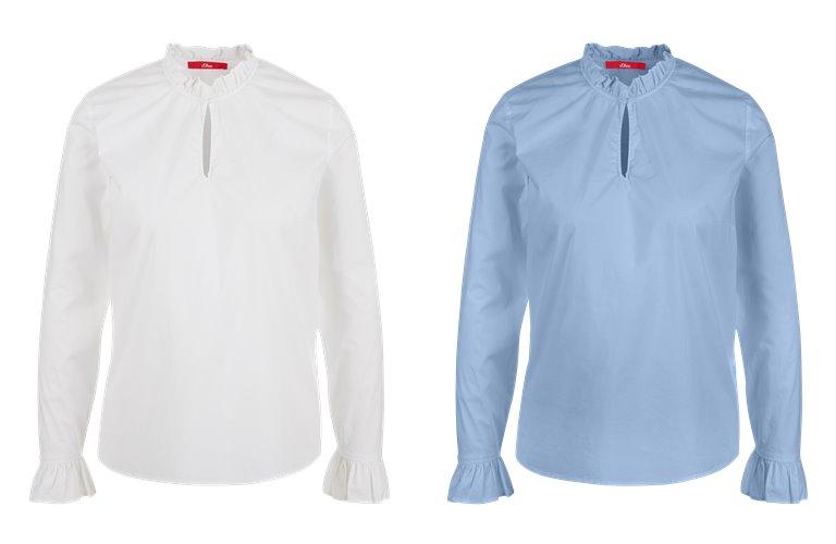 Блузки, рубашки, и топы s'Oliver весна-лето 2019 - фото 3