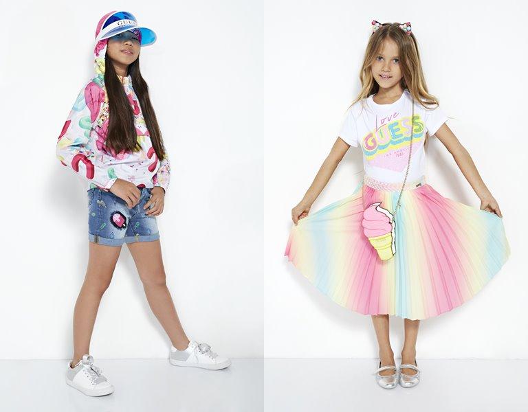 Детская коллекция Sundae весна-лето 2019 от Guess Kids  - фото 1