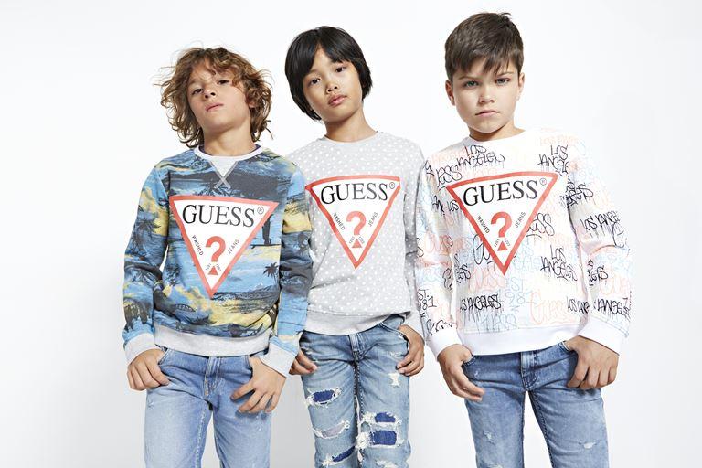 Детская коллекция Sundae весна-лето 2019 от Guess Kids  - фото 3