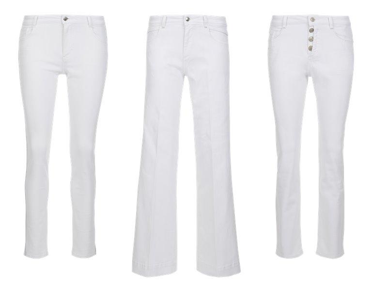 Женские белые джинсы s'Oliver весна-лето 2019 - фото 1