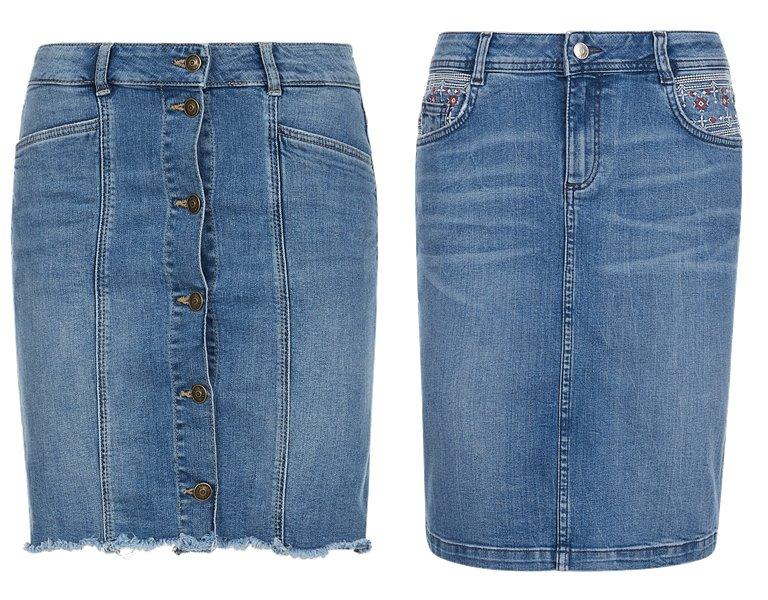 Модные юбки s'Oliver весна-лето 2019 - фото 5