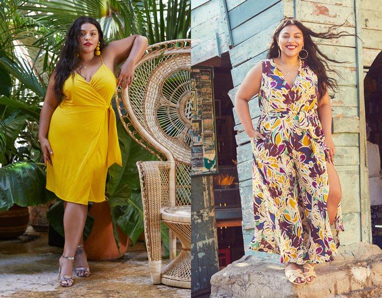 Рекламная кампания одежды для полных Violeta by Mango весна-лето 2019 - фото 1