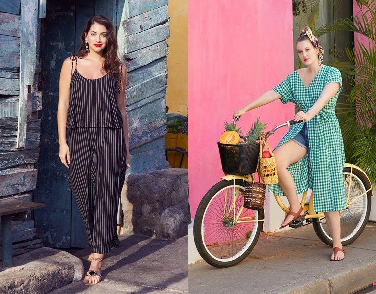 Рекламная кампания одежды для полных Violeta by Mango весна-лето 2019 - фото 2