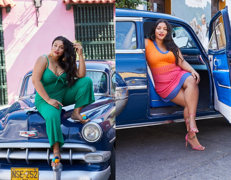 Рекламная кампания одежды для полных Violeta by Mango весна-лето 2019 - фото 3