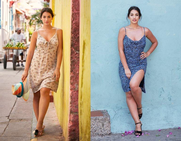 Рекламная кампания одежды для полных Violeta by Mango весна-лето 2019 - фото 4
