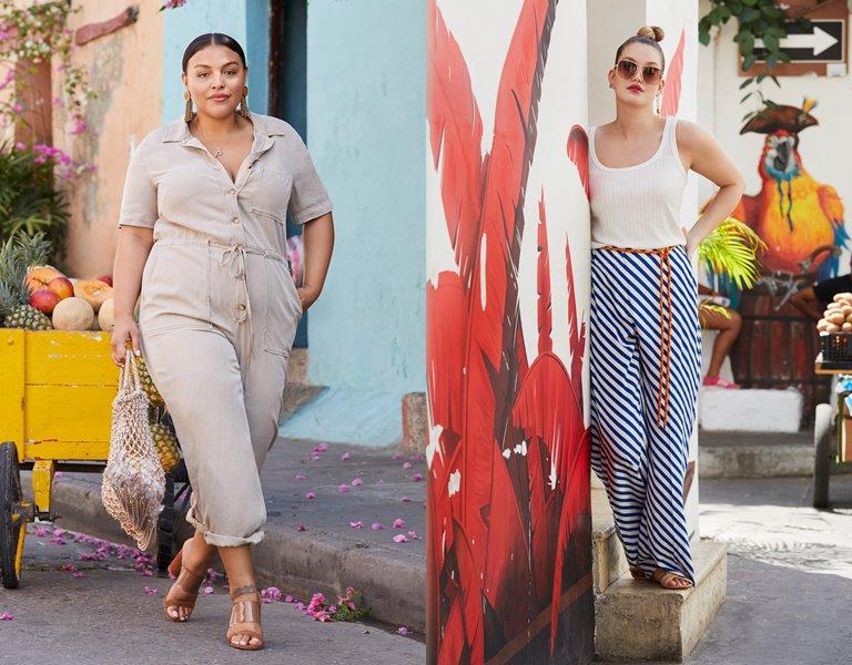 Рекламная кампания одежды для полных Violeta by Mango весна-лето 2019 - фото 5