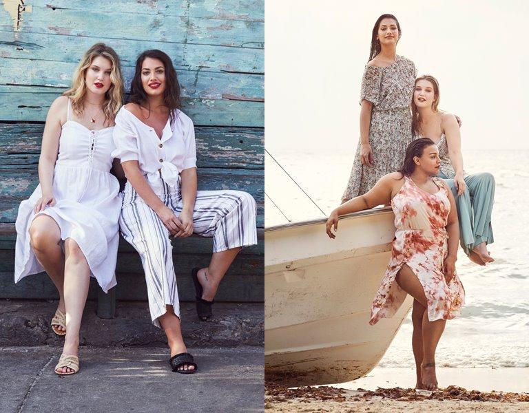 Рекламная кампания одежды для полных Violeta by Mango весна-лето 2019 - фото 6
