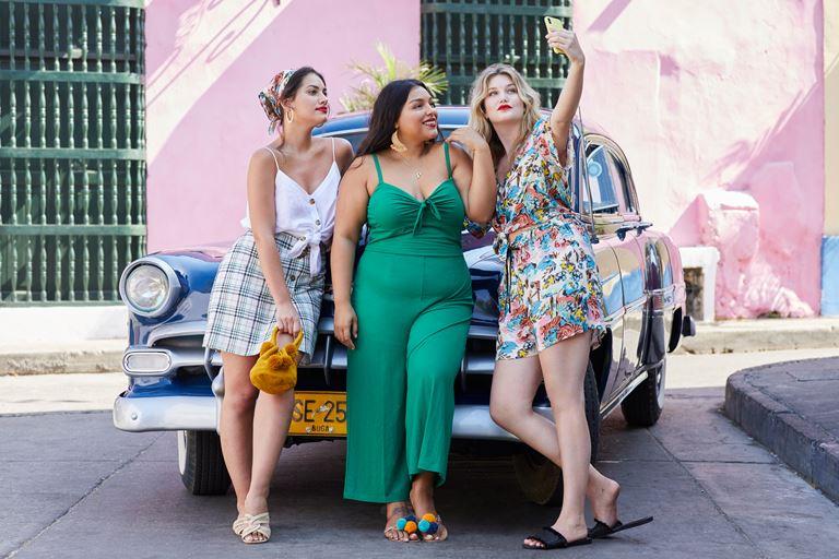 Рекламная кампания одежды для полных Violeta by Mango весна-лето 2019 - фото 8
