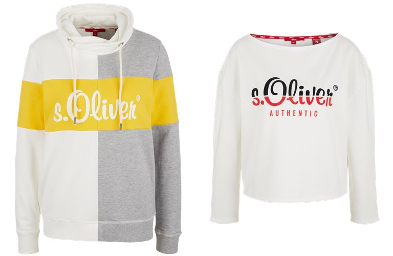 Женские свитера, лонгсливы и толстовки s'Oliver весна-лето 2019 - фото 11