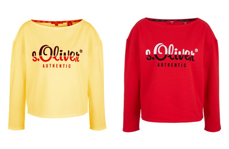 Женские свитера, лонгсливы и толстовки s'Oliver весна-лето 2019 - фото 12