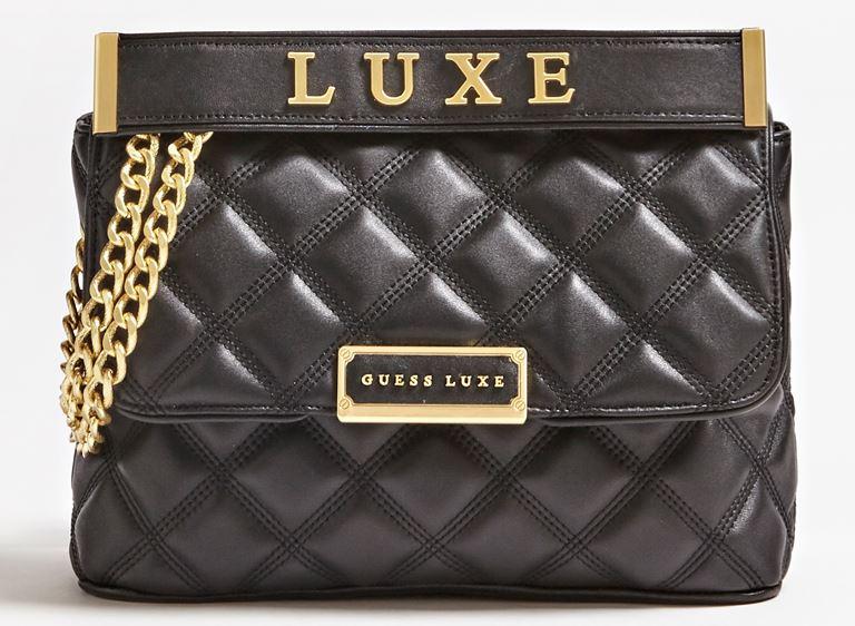 Стёганая сумка Cherie Guess Luxe – яркая новинка 2019 из телячьей кожи - фото 2