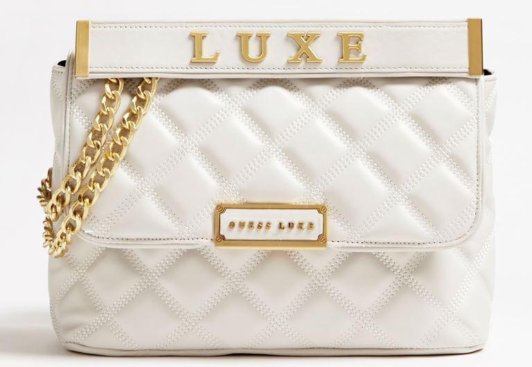 Стёганая сумка Cherie Guess Luxe – яркая новинка 2019 из телячьей кожи - фото 3