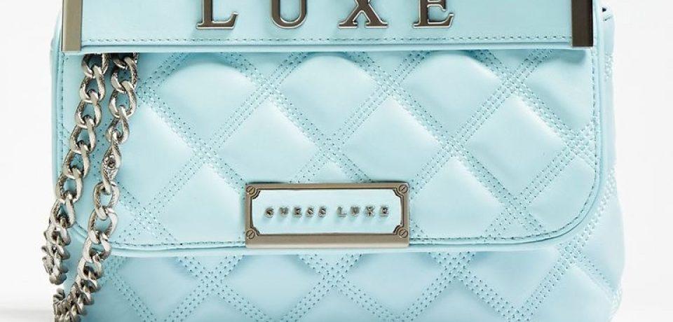 Стёганая сумка Cherie Guess Luxe – яркая новинка 2019