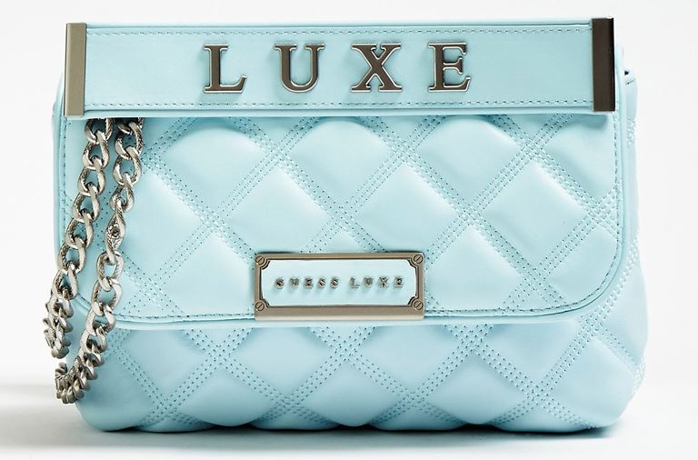 Стёганая сумка Cherie Guess Luxe – яркая новинка 2019 из телячьей кожи - фото 5